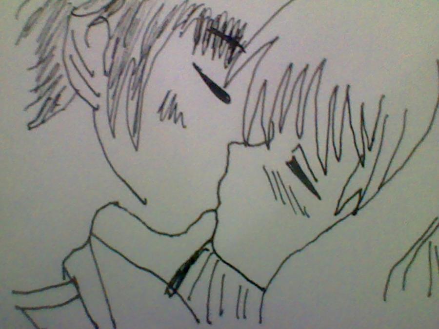 Anime Kissing by SoulessMonsterLovesU on DeviantArt
