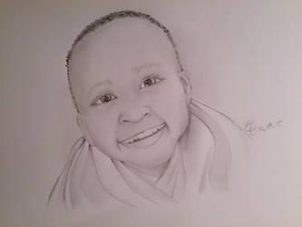 Little boy africa  by Elfimyou