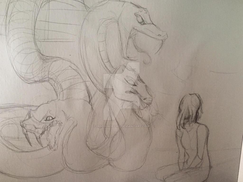 Dream sketch  by InspiringEcho