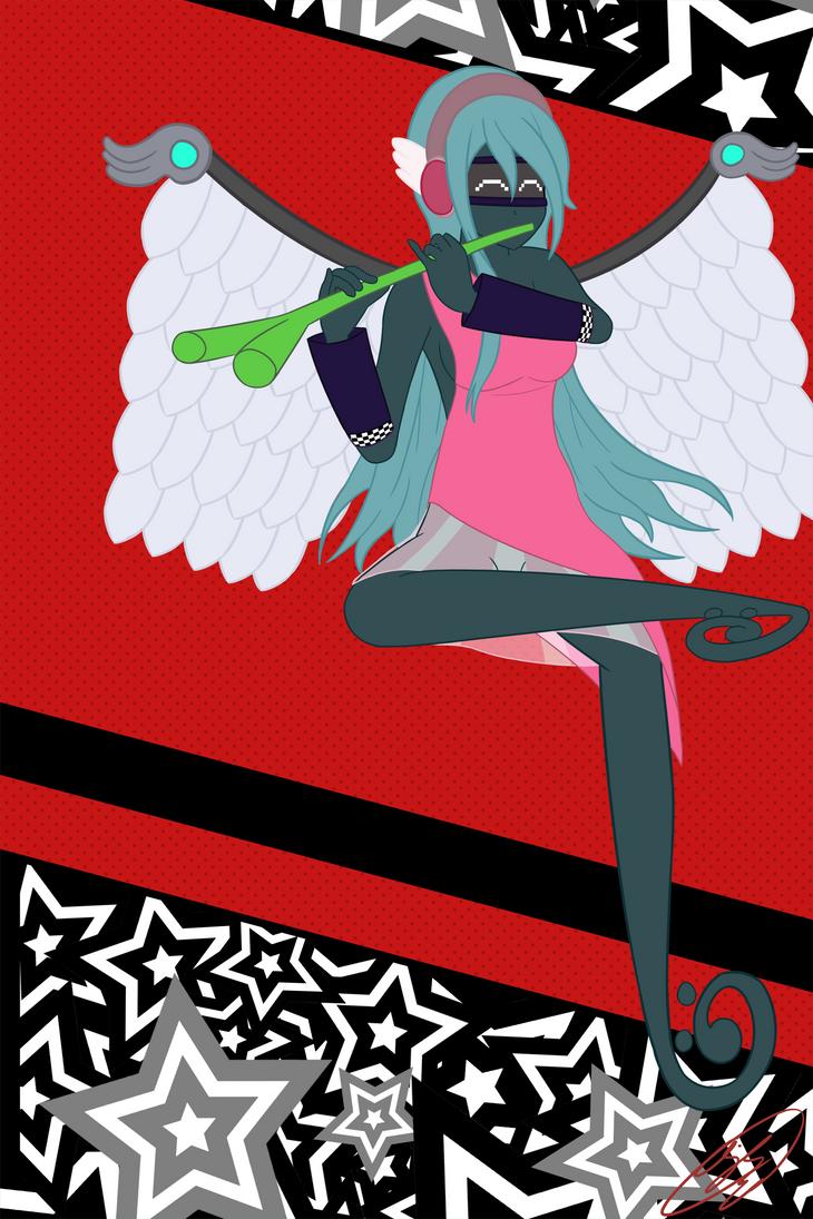 WIP - Miku X Persona (2) by ajkirby2
