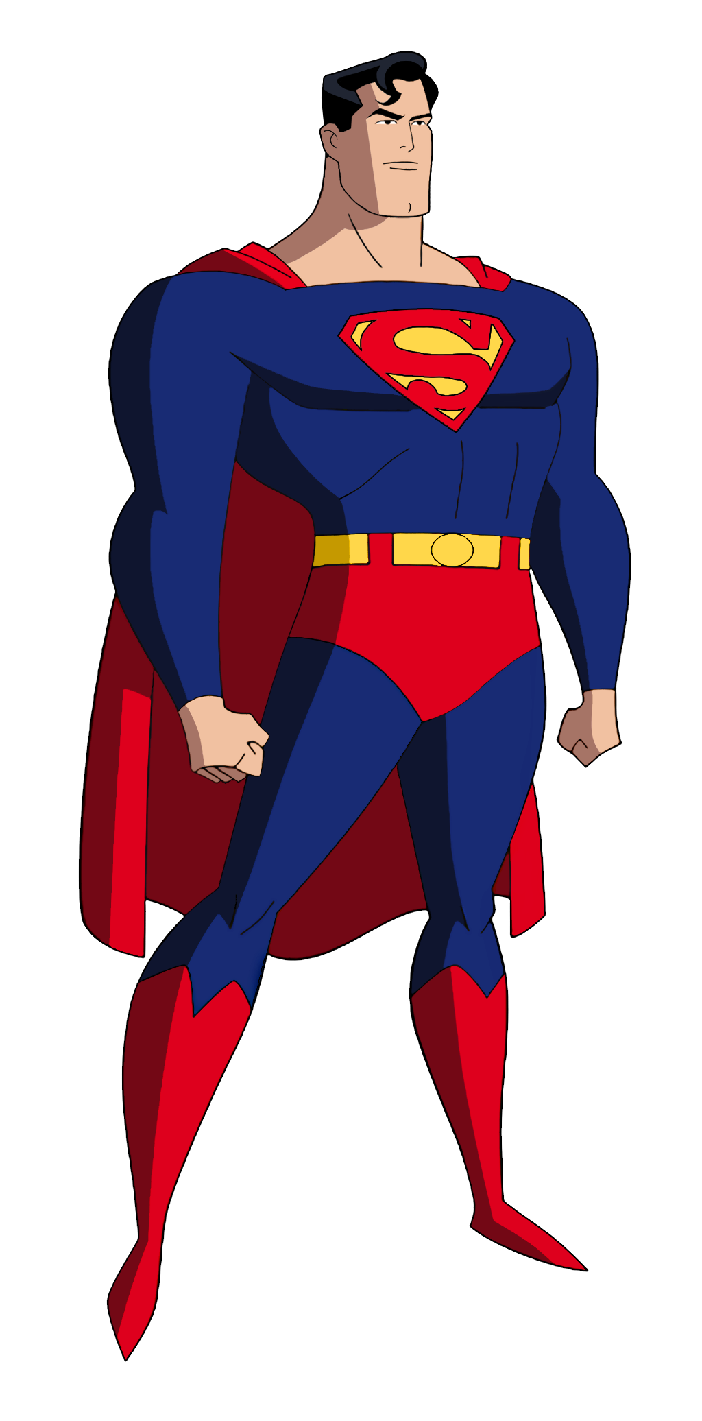 Superman - Batman The Animated Series (mock-up) by ...