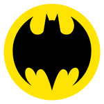 Batman Logo Circle Version