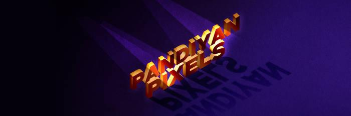 Pandiyan Pixels 3D Text Effect