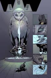 Colorist Sample: Batman