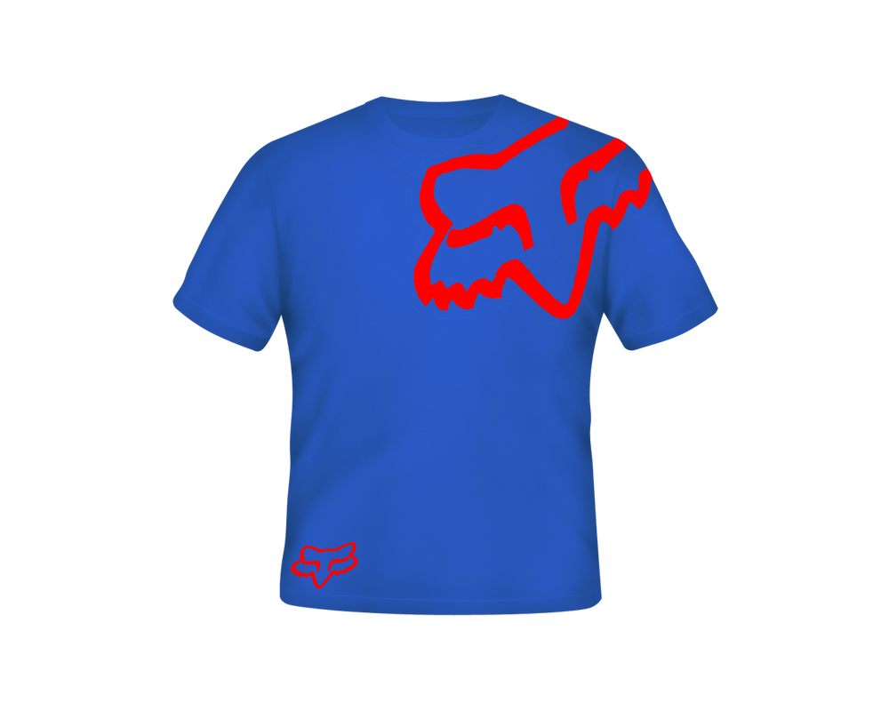 fox racing team t shirt by specialized666 on deviantart