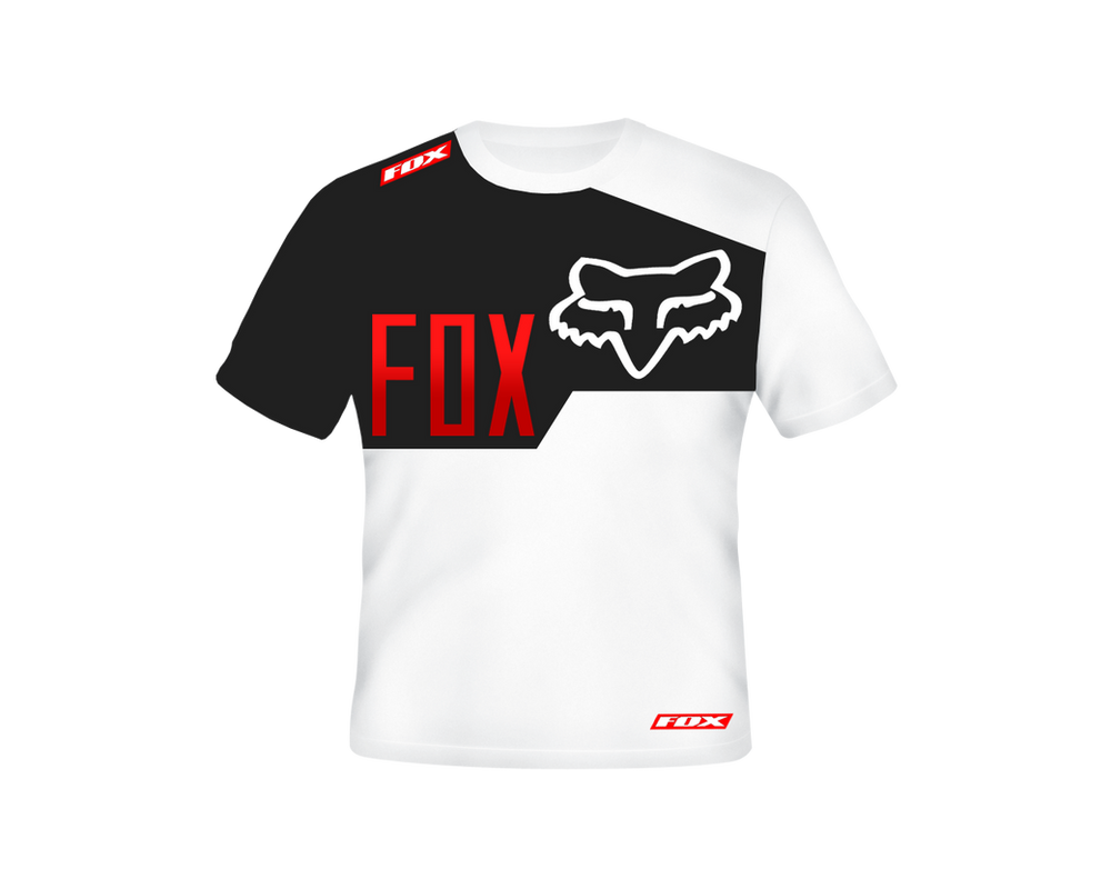fox racing race t shirt by specialized666 on deviantart