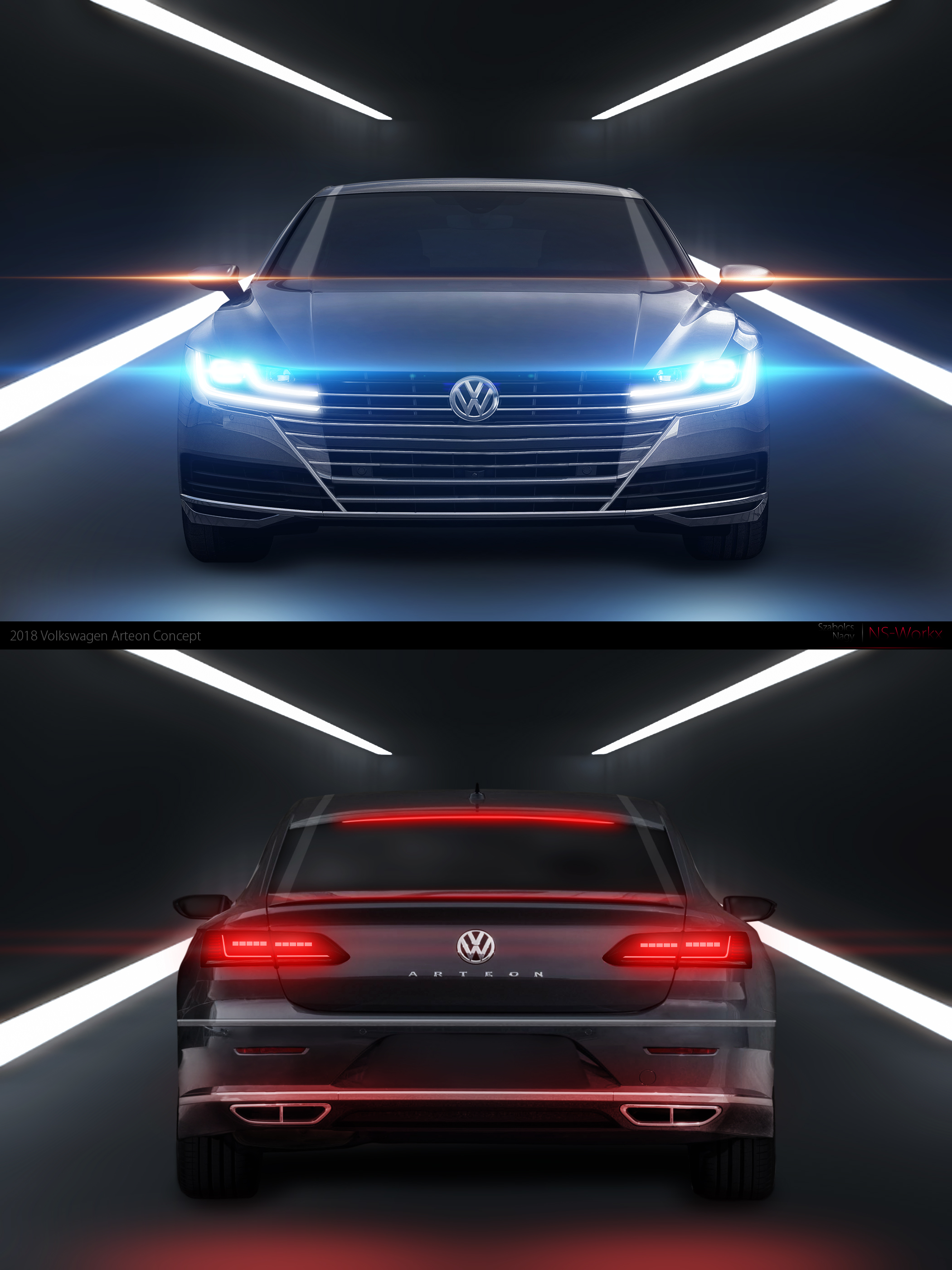 2018 Volkswagen Arteon Concept by specialized666