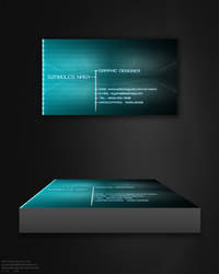 Holo Screen Business Card