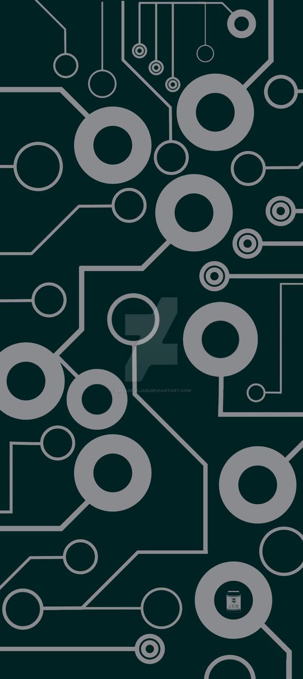 Circuit Board Art Deco by DreadfulJAM on DeviantArt