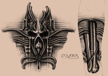 tattoo by e-volos