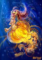 mermaid by wilczysmok