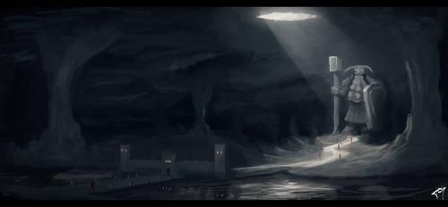 Dans les profondeurs de la terre by j--o--h