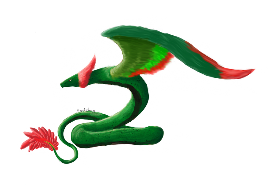 Quetzalcoatl by Nina-13draco