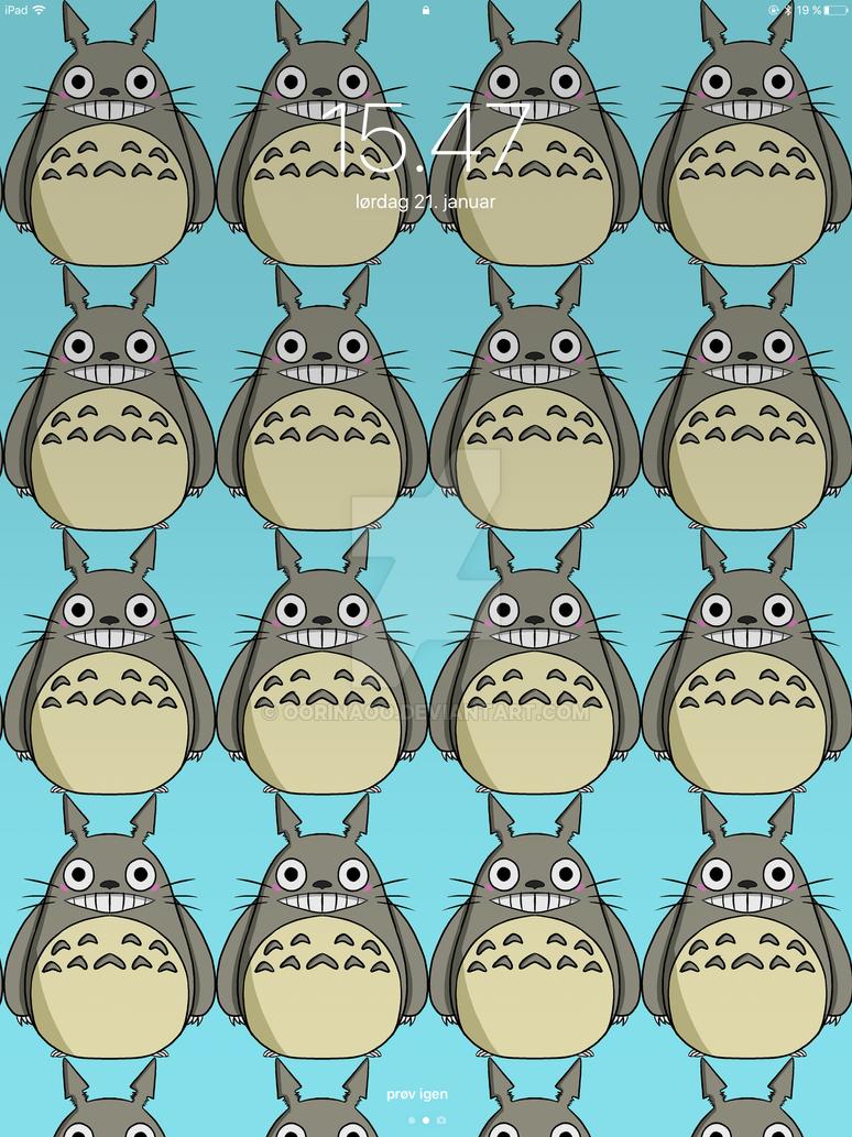 Totoro Wallpaper by oORinaOo