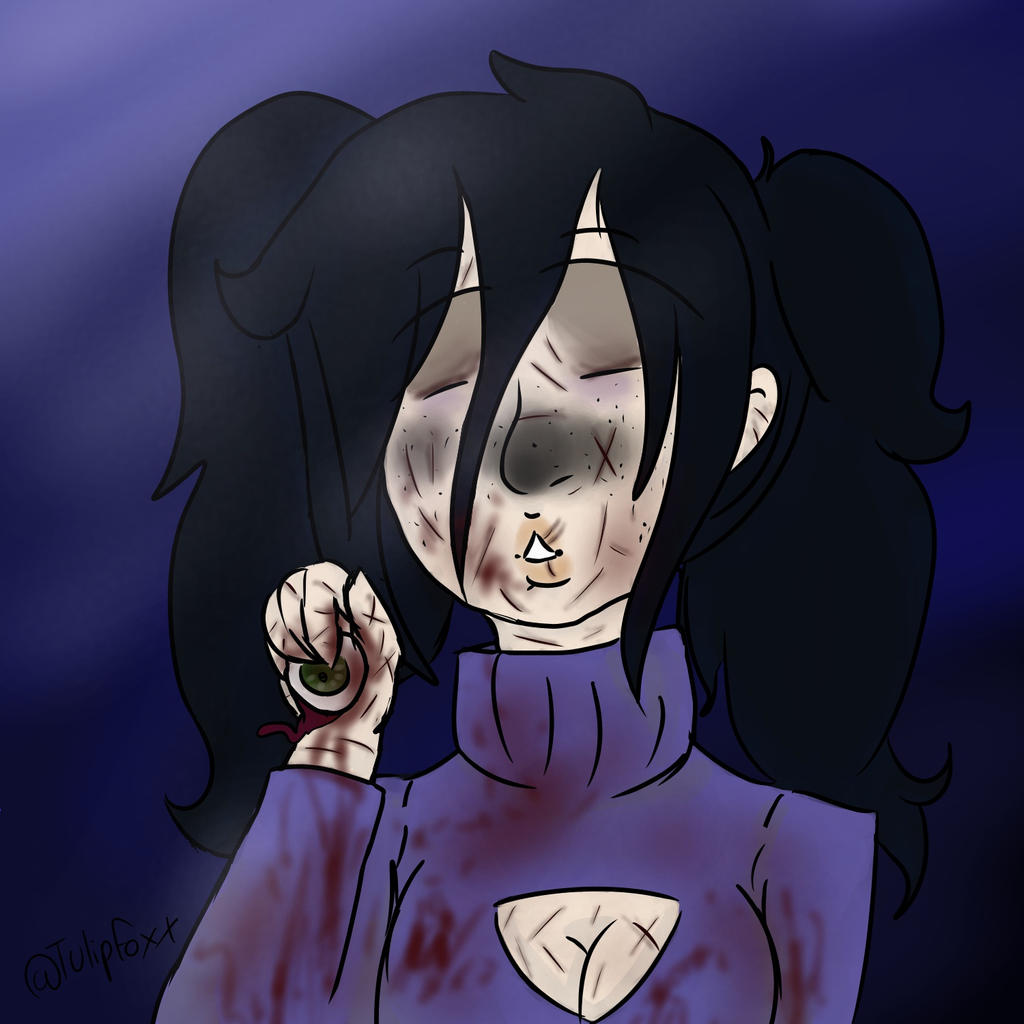 give me your eyes Lulu speedpaint goretober day 4
