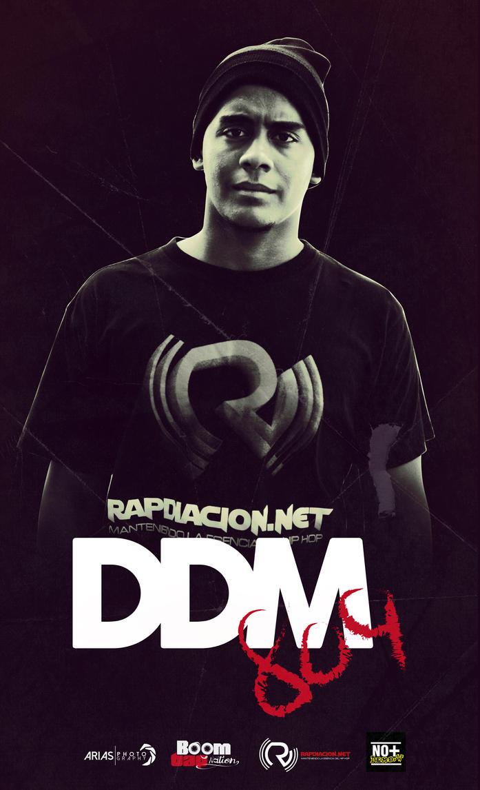 Poster Publicitario - DDM809 (Rapdiacion.net) by natacartiel