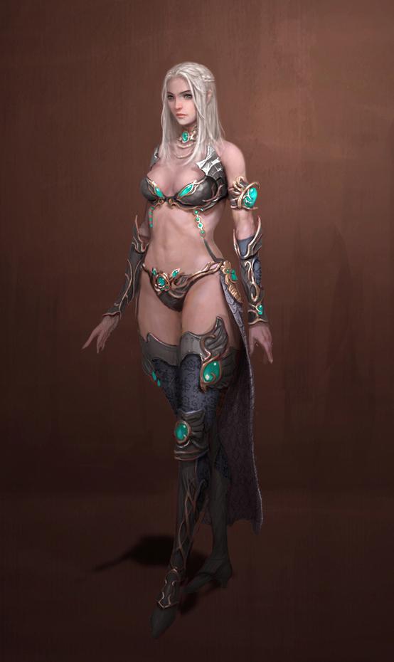 sorceress by Mineworker