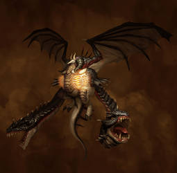 Dragon by Mineworker