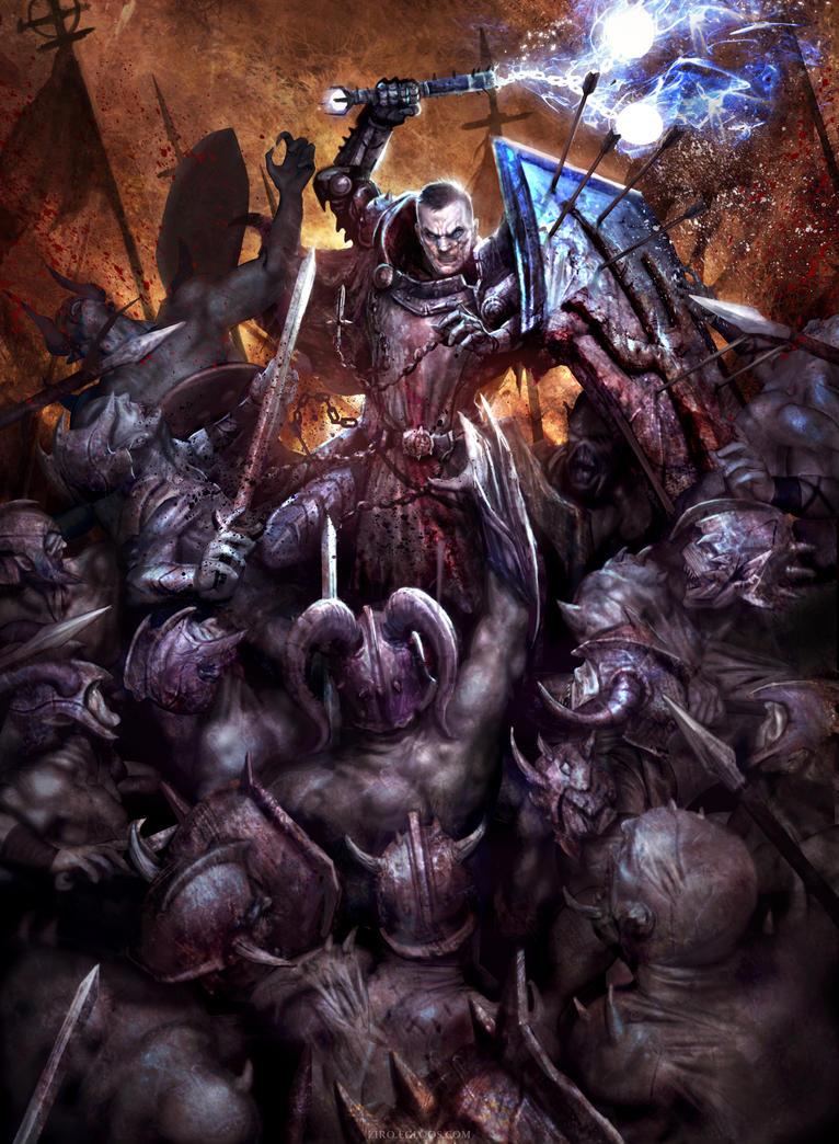 Diablo III: Reaper of Souls - The Crusader by Mineworker