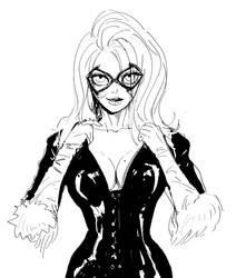 Blackcat sketch(wip)