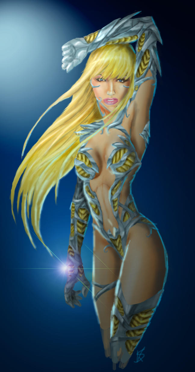 Witchblade Danielle by Dinoforce