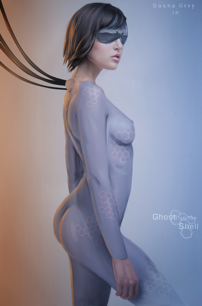 Ghost in the Shell - poster by ~Dinoforce on deviantART
