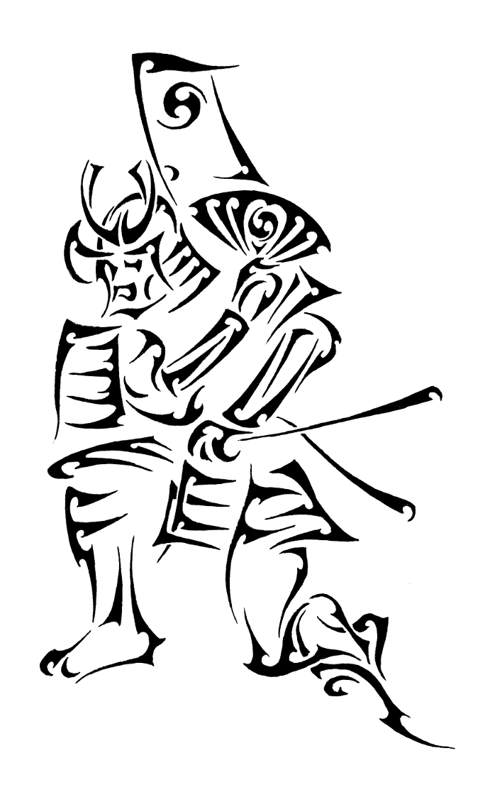 Tribal Samurai by Dinoforce