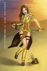 Naotika the Tigerwarrior