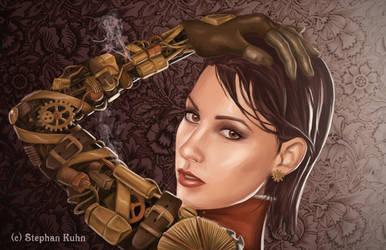 Lady Valerie - Steampunk girl