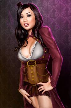 Steampunk Lady Tia