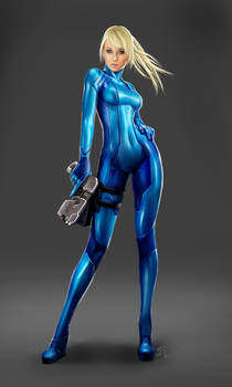 Metroid Samus Aran - Zero-Suit