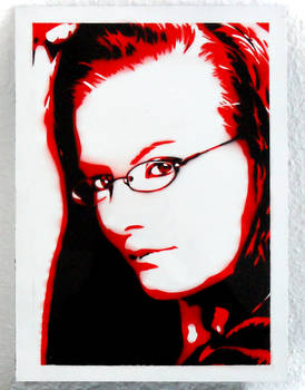 Psai - Black and Red Airbrush