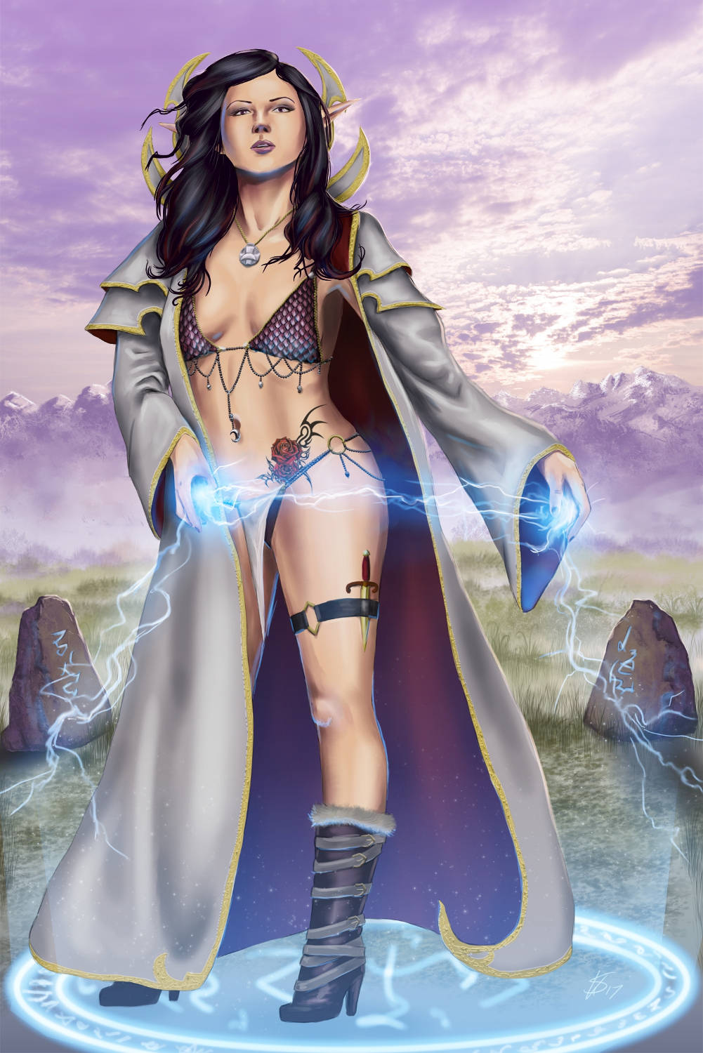 The Mage by Dinoforce