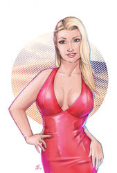 Selina - Lady in red