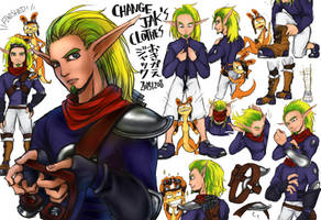Change Jak's Clothes by RAIRA-K