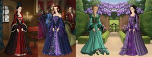 Girls in Victorian by MobMotherScitah