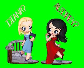 Audrey and Diana