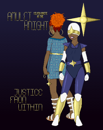 Amulet Knight Poster by MobMotherScitah