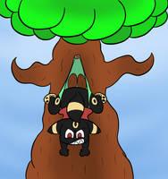 Tree Wedgie (commission) by oddwonz