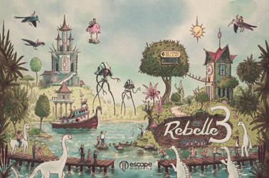 Rebelle World Illustration by JunkyardSam