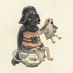 Vader, Porg and the Borg