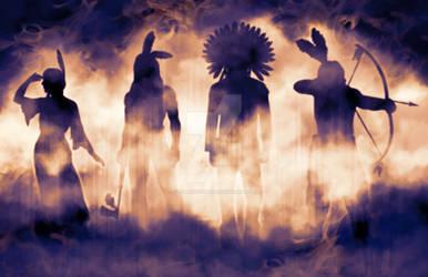 Warriors in the Mist