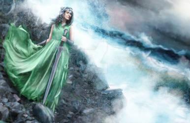 Mighty Aphrodite the Warrior Goddess