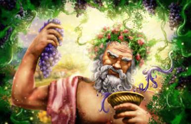 Digital Painting - Dionysus