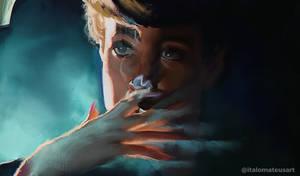 Blade Runner (1982) digital painting