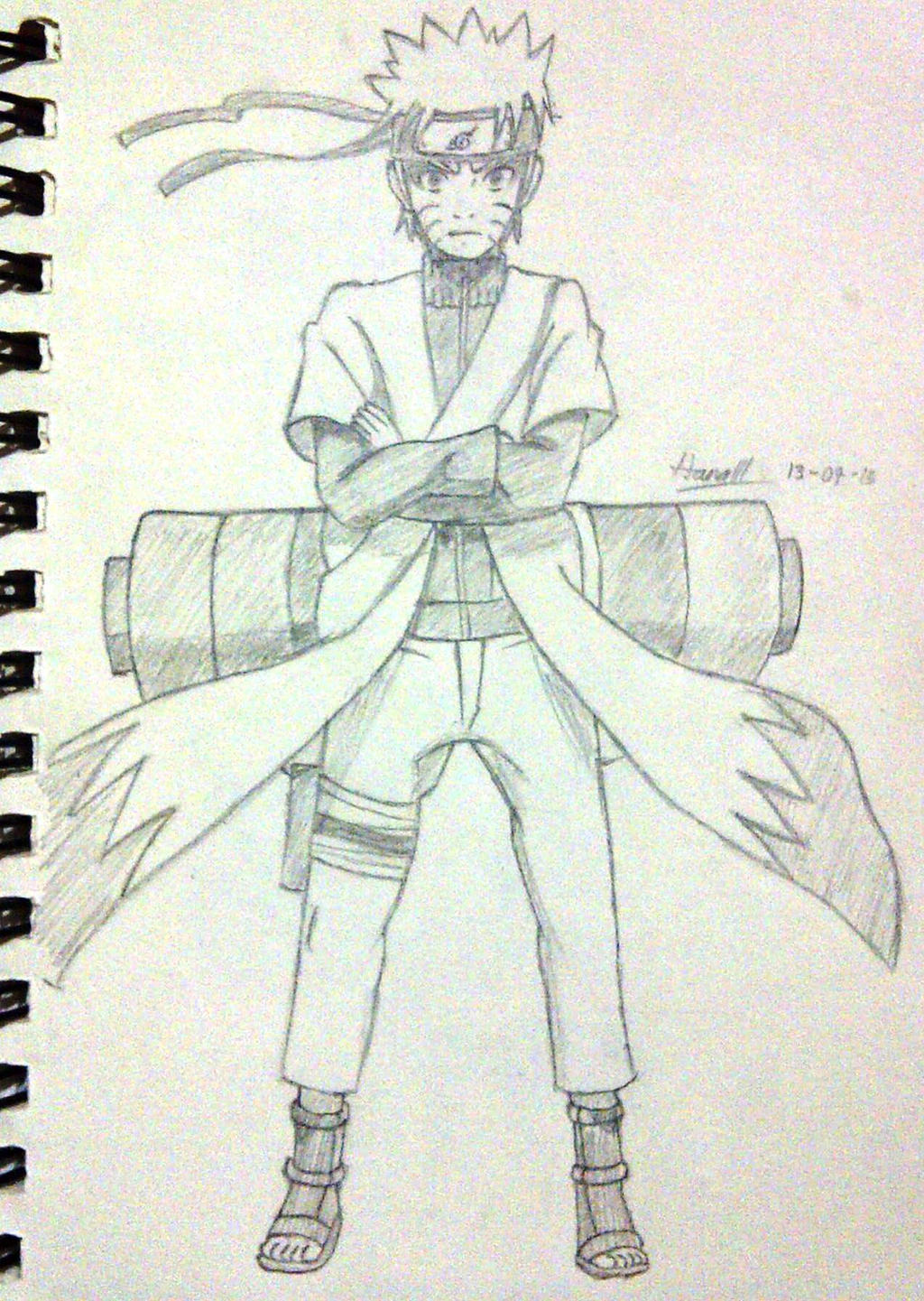 Naruto - Sage Mode by KitsuriHarumi on DeviantArt