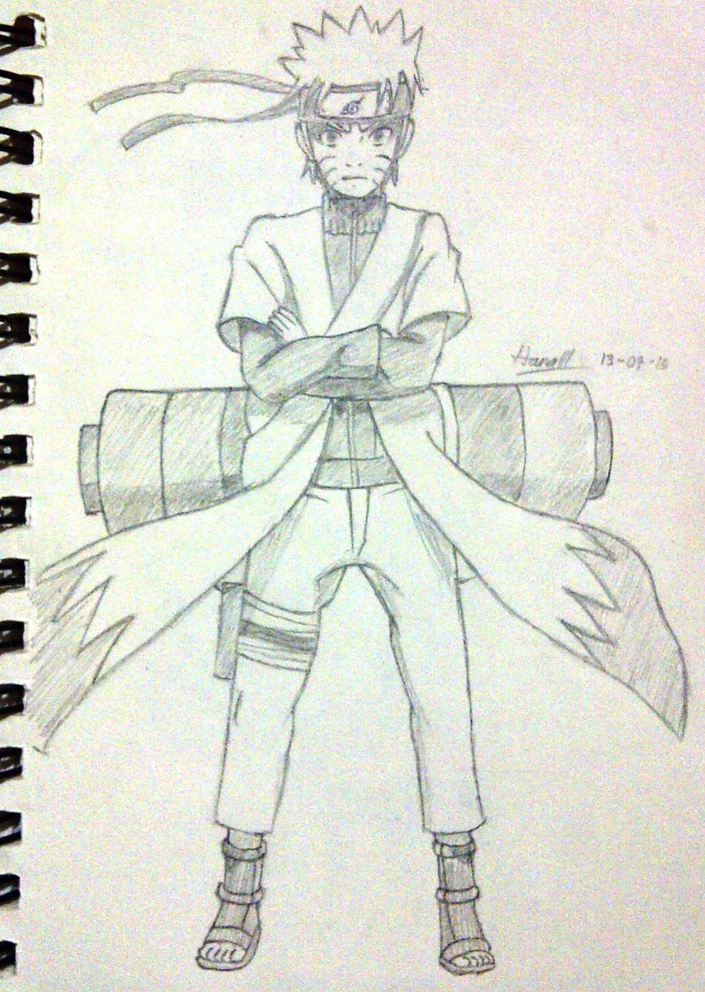 Naruto - Sage Mode by KitsuriHarumi on DeviantArt