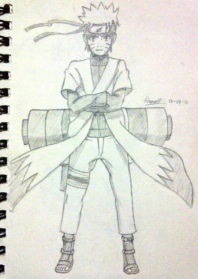 Naruto - Sage Mode by ... Naruto Uzumaki Sage Mode Drawing