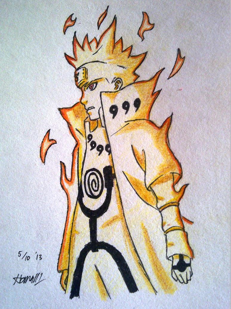 Naruto Minato Kyuubi Mode By Kitsuriharumi On Deviantart