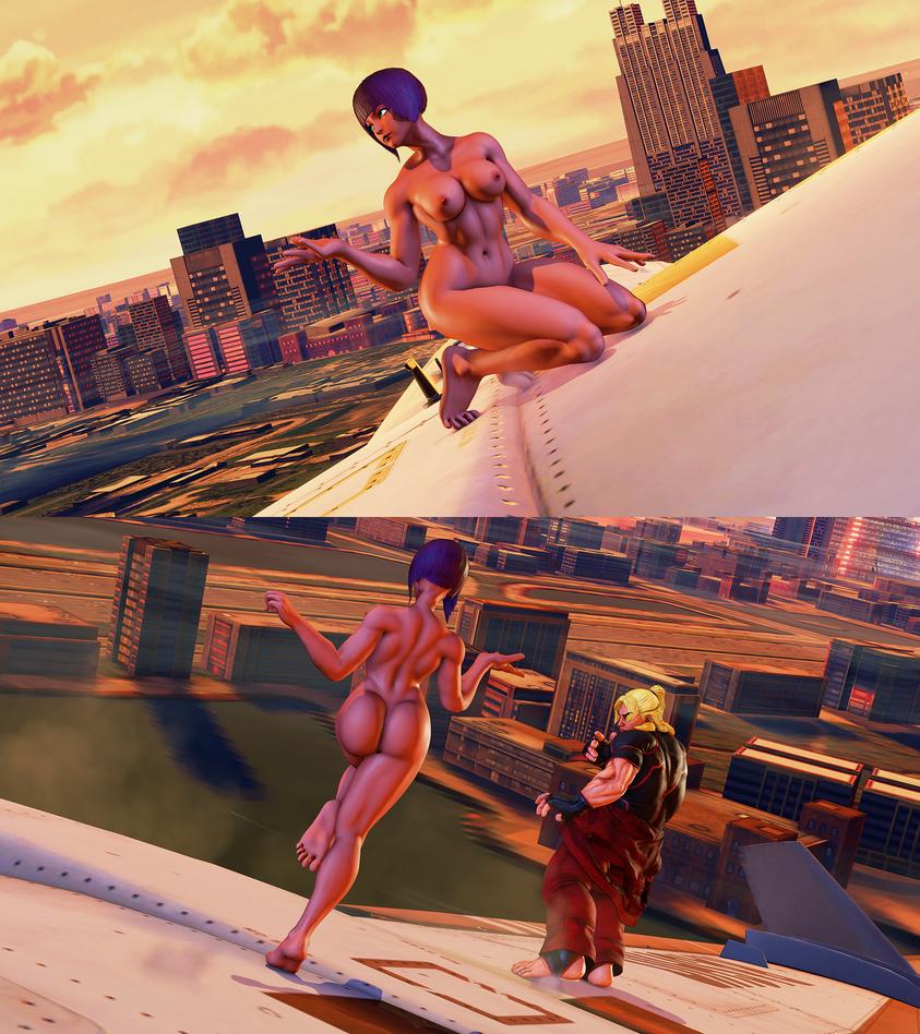 Menat Nude Rough WIP by gatoradepanda